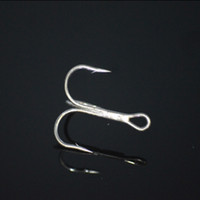 Wholesale 2016 New Black Color Fishing Equipment Fishing Hook High Carbon Steel Treble Hooks Fishing Tackle