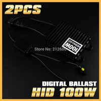 audi headlight ballast - 2PCS V Xenon W AC Digital Slim Blocks Electronic Ballast for HID Conversion Fog Headlight H1 H3 H4 H7 H11