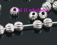 Wholesale OMH wholesaleFree ship tibetan silver spacer beads Jewelry metal beads mm ZL169
