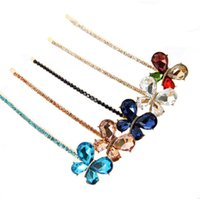 Cheap ladies girls hair barrettes trendy Best colorful resin hairpins brand design
