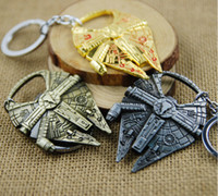 Wholesale 2016 Hot Star Wars Millennium Falcon Stainless Steel Bottle Opener Kitchen Tools Color