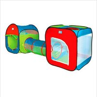 baby play tunnel - Baby lovely cartoon super play games house children crawling tunnel children s tent Brand New High Quality