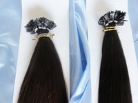 "Brazilian Hair #1B/2/4/6/14/18//27/33/60 Straight 100% Peruvian Human Virgin Remy Hair#1B 14 8 60 Cuticle Flat Tip Hair Extension Keratin Pre-bonded Hair 1g strand 300g lot 18""-28"""