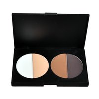 Wholesale 4 Color Pressed Powder Trimming Powder Oil Control Concealer Makeup Powder Cosmetic Highlighter Shadow Powder