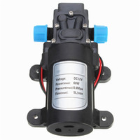 Wholesale 1PC DC V W Motor High Pressure Diaphragm Water Self Priming Pump L Min NEW High Quality