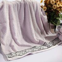 Wholesale Brand New Cotton Bath Towel Beach Towels for Adults Absorption Bathroom Towel Set Toalhas De Banho