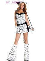 adult animal suit - w1022 New Sexy Leopard Cat Suits Adult Costumes With Tail Fancy Cosplay Costume For Women Halloween Party Fur Animals Cats