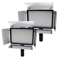 Wholesale Mcoplus LE Bi color LED Light LED Lamp K K Color Temperature LM Video Light for Canon Nikon Sony Cameras