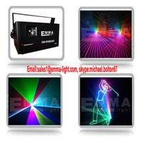 animation laser - Powerful watt rgb full color animation laser laser projector with ilda