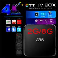 hdd player - M8 Android TV Box Quad Core S802 XBMC K GHz GB RAM GB ROM Mini PC Bluetooth G wifi H265 HDD Player Free DHL Shipping