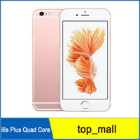 Wholesale Unlocked i6s Plus I6s inch MTK6582 Quad Core HD MP Dual camera Show G GB Show G Lte G GPS Smart Android Phone