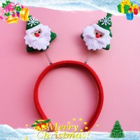 Wholesale Chritmas head hoop toy small gifts small animal head hoop red cartoon Cartoon animal Beautiful Christmas gifts