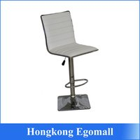 Wholesale US stock CTN White Bar stool front desk chair Simple yet well executed design Commercial Furniture bar chair