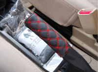 Wholesale Wine boutique three piece car handbrake sleeve gear sets mirror sets Handbrake gear sets mirror sets three suits B