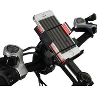 Wholesale Cell Phone Holder Cycling Mountain Bike Motorcycle Cell Phone Holder GPS Navigation Mobile Phone Holder Bicycle Clip Big Screen