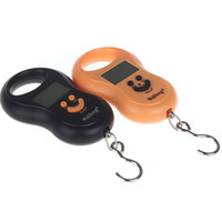Wholesale In both Chinese and English small optional electronic crane scale gourd portable scale portable backlit kg hook said accurate jin kilogra