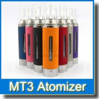 Cheap EGO EVOD MT3 Atomizer MT3 Vaporizer E Cigarette MT3 Clearomizer for EGO EGO-C EGO-W EGO-T Series Electronic Cigarette