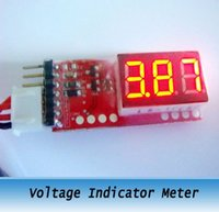 Wholesale 2S S RC battery Tester Voltage Indicator Meter