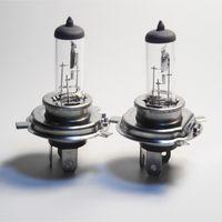 Wholesale 20pcs H4 V W P43T clear car bulb halogen lamp Headlight Emark E4 quartz glass focusing k OEM CP005
