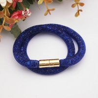 magnetic balls - Fashion Stardust Bracelets with magnetic clasp balls jewelry Double Stardust Bangles statement charms beaded strands infinity colors