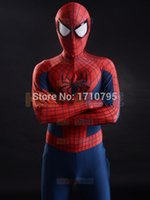 adult plus halloween costumes - 2015 D Printing New Spider man Superhero Costume spandex fullbody adult halloween cosplay spiderman costume the most popular zentai suit