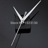 Precio de Relojes de cuarzo piezas-Triángulo blanco Manos de bricolaje Cuarzo Negro Movimiento reloj de pared de la pieza de reparación Mecanismo ENVÍO GRATIS
