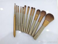 Cheap Makeup Tools Kits Nude brushes Makeup Tools Professional Brush sets 12 piece Iron box high quality