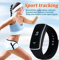 answers travel - 20pcs dhl sport tracker bluetooth wrist watch with pedometer sleep moitor remote shutter clock travel wristwatch