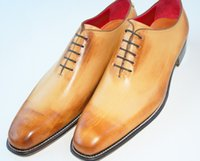 craft shoes - men s shoes custom handmade shoes oxford shoes dress shoes genuine craft leather HD N047