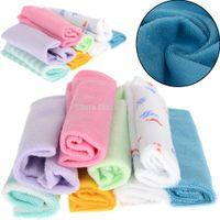 baby wipes mix - 8Pcs Baby Infant Newborn Soft Bath Towel Washcloth Bathing Feeding Wipe Cloth Mix colors Cheap Free