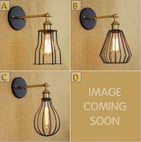 Cheap American industrial creative Loft nostalgic style single head contracted new RH decorated corridor wall lamp