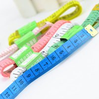 Wholesale 2PCS Useful Measuring Ruler Sewing Cloth Tailor Tape Measure Soft Flat M quot