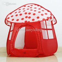 Wholesale Children Beach Mushroom Shape Tent Baby Toy Play Game House Pit Ball Pool Castle Indoor Outdoor Tents tienda corralito teatro