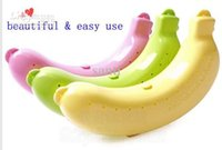 Cheap Banana Guard Container Storage Lunch Fruit Protector Plastic Box Banana Case