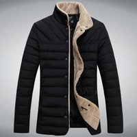 Wholesale Fall Men s Winter Warm Collar Cotton Down Jacket Men puffer Coat M242