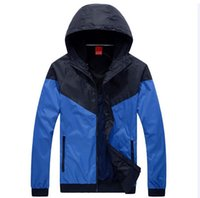 Cheap New 2016 brand windrunner Men sportswear. High Quality waterproof jacket Men sports jacket. Brand Hoodie Jacket coats Sport Suit