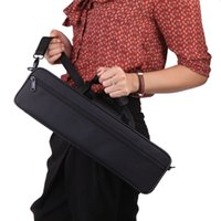 Wholesale 600D Water resistant Flute Case Oxford Cloth Gig Bag Box for Western Concert Flute with Adjustable Shoulder Strap Pocket Cotton