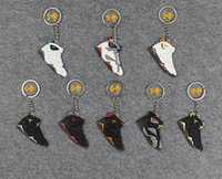 aj7 - AIR JORDAN AJ7 Generation Keychain Jordan Generations Of Fans Pendant Basketball Shoes Key Chain
