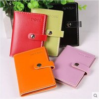 american bank note - Women Leather Business Card Holder PU Credit Card Bank Card Case Fashion Design ID Holders High Quality