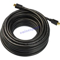 Wholesale 15m HDMI to HDMI cable Lead v1 p D HDTV Blu Ray For PS3 Xbox HD TV D TV
