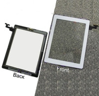 for ipad2 - LCD Screen Display Touch Screen Glass Digitizer Home Button Assembly for iPad White Black Replacement