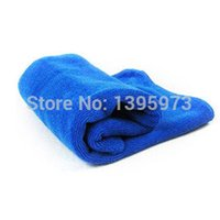 Wholesale High Quality Great water absorb ability Microfiber Towel Car Cleaning Wash Clean Cloth X70CM