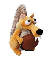 Wholesale New Squirrel Stuffed Plush Toys CM Ice Age Plush Toy Dolls