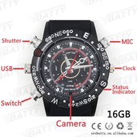 Wholesale 16GB New model camera watch journalist watch with camera can take viedo hot sale watch