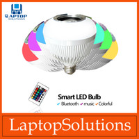 bar lamp globe - Bluetooth Intelligent Music LED Bulbs E27 Party Light Lamp For Christmas Wedding BAR Woke With Smartphone