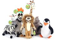 alex baby toys - HOT SALE MADAGASCAR CHARACTER TEAM CHARACTERS PLUSH TOYS ALEX GLORIA MARTY MELMAN PENGUIN JULIEN STUFFED TOYS BABY TOY KIDS GIFT