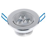 Wholesale W Ceiling downlight Epistar LED ceiling lamp Recessed Spot light V V for home illumination