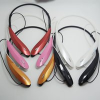 Wholesale HBS S Wireless Bluetooth Stereo Headset Earphone for Iphone plus S S Samsung Note s4 s5 TONE HBS800S Mobile