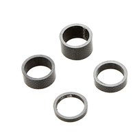 Wholesale 4Pcs Set quot mm mm mm mm Carbon Fiber Bicycle Washer Bike Headset Spacer Stem Kits