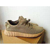 Cheap 2016 Hot Sale Oxford Tan Yzy Boost 350 Turtle Dove Grey Outdoor Sport Shoes Pirate Black Kanye Shoes Moonrock Unisex size 11.5